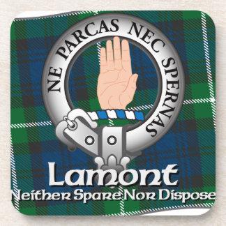 Lamont Clan Beverage Coasters