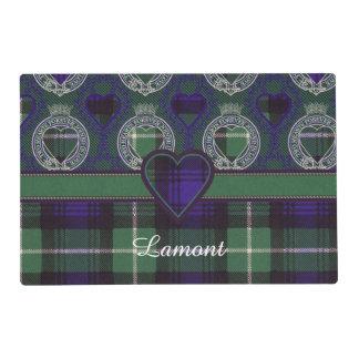 Lamont clan Plaid Scottish tartan Placemat