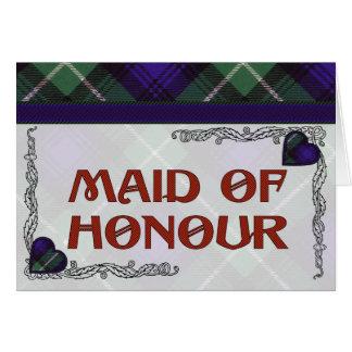 Lamont Scottish Tartan Greeting Card