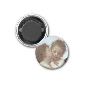 L'Amour et Psyche enfants 3 Cm Round Magnet