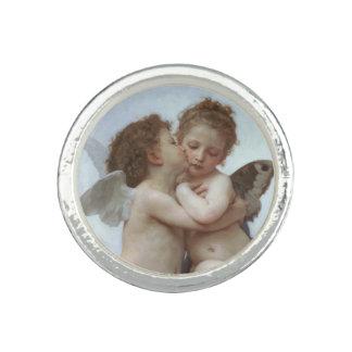 L'Amour et Psyche enfants in detail by Bouguereau