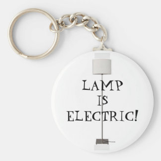 Lamp is Electric! Key Ring