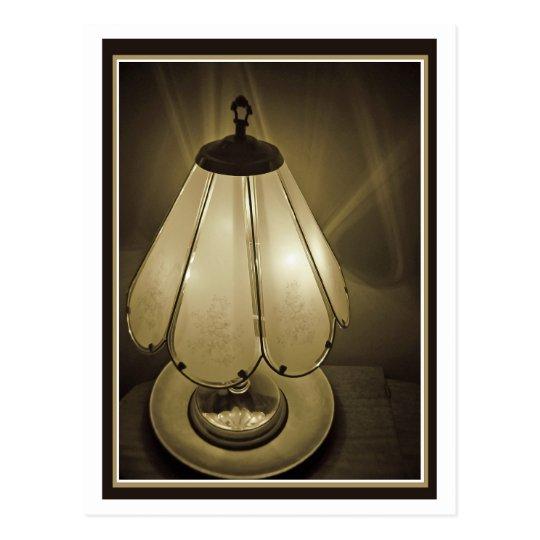 Lamp Light Postcard