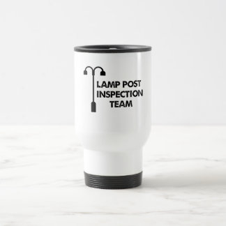 Lamp Post Inspection Team Travel Mug