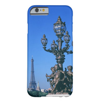 Lamp post on Pont Alexandre III Bridge and Barely There iPhone 6 Case