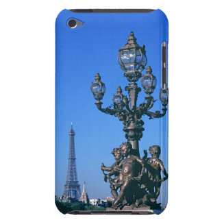 Lamp post on Pont Alexandre III Bridge and iPod Touch Case