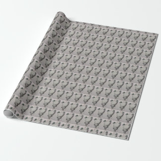 Lamp Post Wrapping Paper