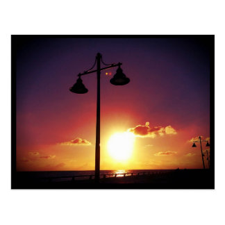 Lamp Posts Key West Florida Postcard