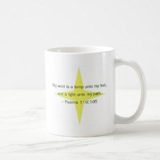 Lamp Unto My Feet Coffee Mug