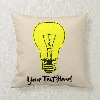 Lamp Yellow Cushion