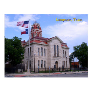 Lampasas County Courthouse Postcards