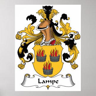 Lampe Family Crest Print