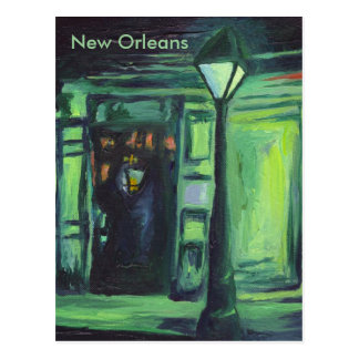 Lamplight, New Orleans Postcard