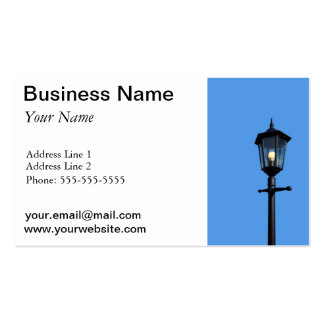 Lamppost Pack Of Standard Business Cards