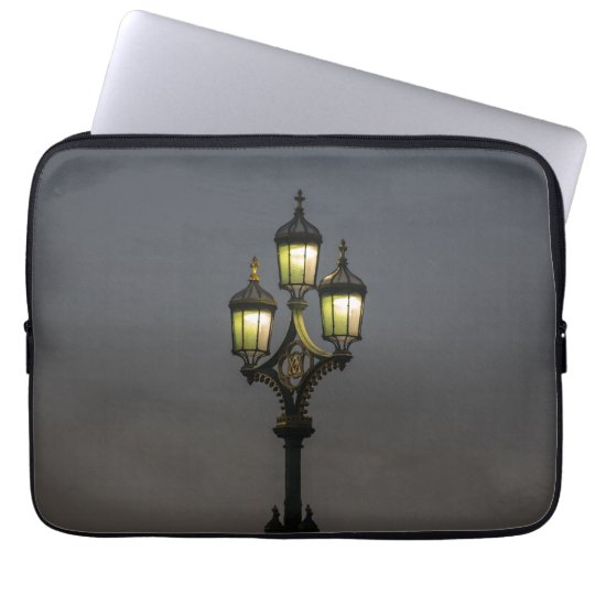 Lamppost laptop sleeve