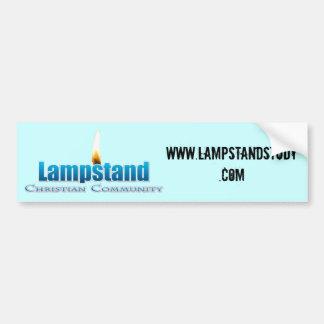 Lampstand bumper sticker