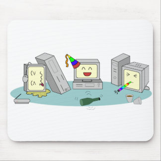 Lan Party Computer Gaming Geeky Mouse Pad