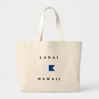 Lanai Hawaii Alpha Dive Flag Bags