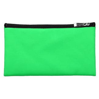 Lanai Lime-Green-Acid Green-Tropical Romance Cosmetics Bags