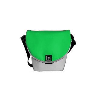 Lanai Lime-Green-Acid Green-Tropical Romance Messenger Bag