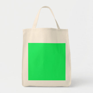 Lanai Lime-Green-Acid Green-Tropical Romance Grocery Tote Bag