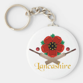 Lancashire Cricket Keychain
