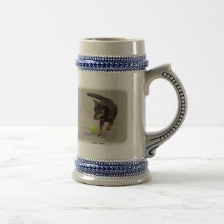 Lancashire Heeler 9R056D-248 18 Oz Beer Stein