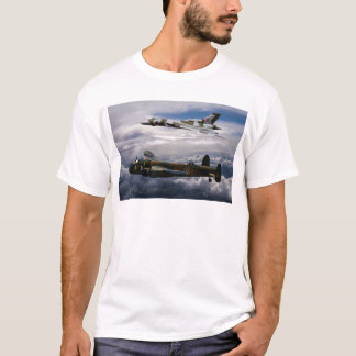 Lancaster and Vulcan XH558 T-Shirt