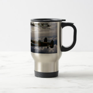 Lancaster and Vulcan XH558 Travel Mug