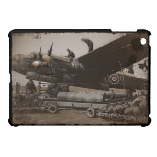 Lancaster Being Loaded with Bombs iPad Mini Cases