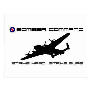 Lancaster Bomber - Bomber Command Postcard