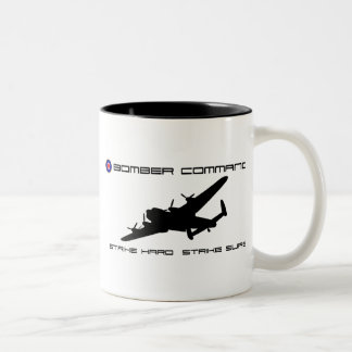 Lancaster Bomber - Bomber Command Two-Tone Coffee Mug