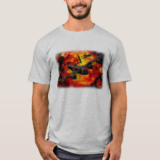 Lancaster Bomber Bombing Run T-Shirt