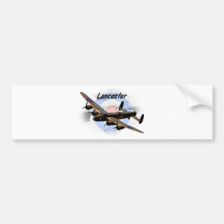 Lancaster Bomber Bumper Sticker