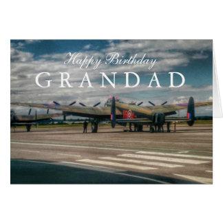 Lancaster Bomber Card