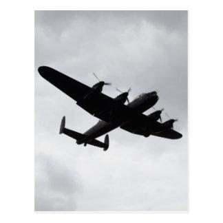 Lancaster Bomber Landing Postcard