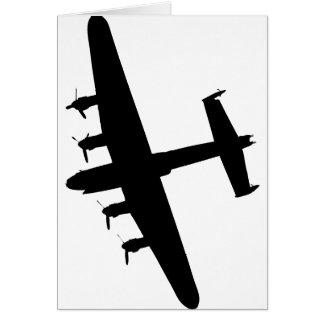 Lancaster Bomber RAF Card