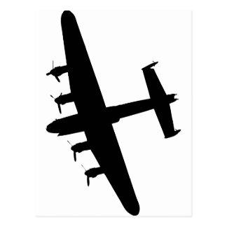Lancaster Bomber RAF Postcard