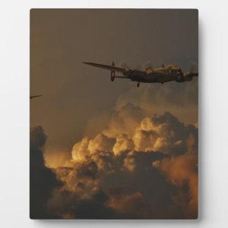 Lancaster bomber STORM Photo Plaques