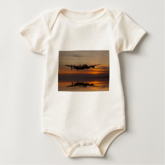 lancaster Bomber the home stretch Baby Bodysuit