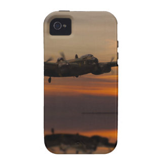 lancaster Bomber the home stretch iPhone 4/4S Cases