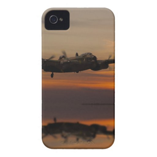 lancaster Bomber the home stretch iPhone 4 Case-Mate Cases
