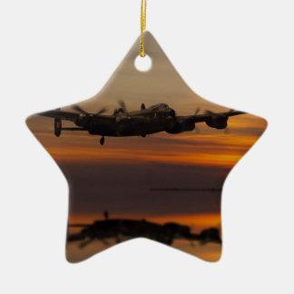 lancaster Bomber the home stretch Ceramic Star Decoration