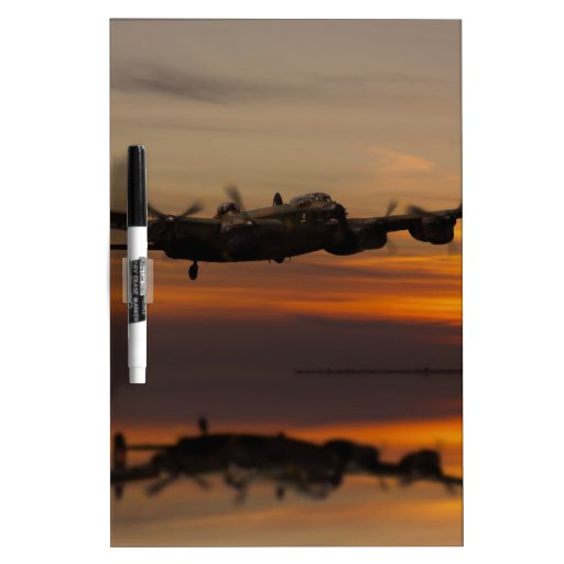 lancaster Bomber the home stretch Dry Erase Whiteboards