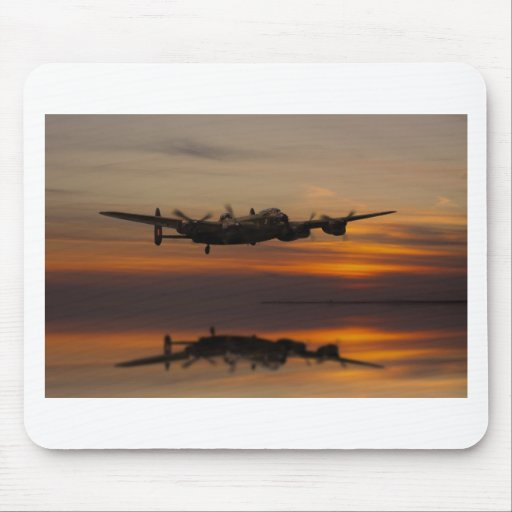 lancaster Bomber the home stretch Mousepads