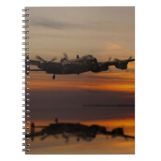 lancaster Bomber the home stretch Notebooks