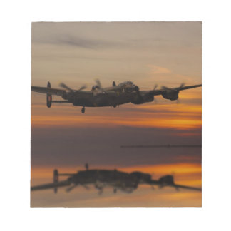 lancaster Bomber the home stretch Notepad