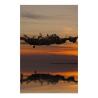 lancaster Bomber the home stretch Stationery