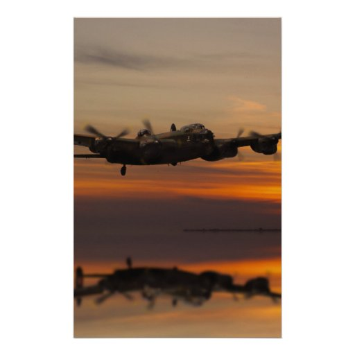 lancaster Bomber the home stretch Customised Stationery