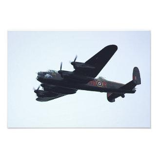 Lancaster Bombers. Photo Art